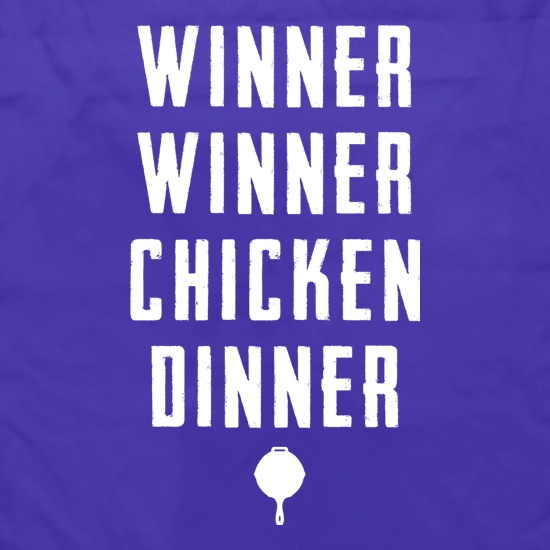 Winner Winner Chicken Dinner TXT Apron