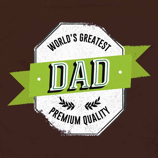 World's Greatest Dad Premium Quality Apron