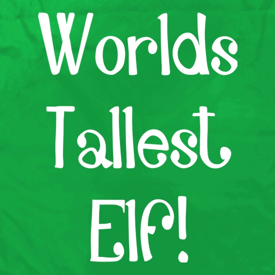 Worlds Tallest Elf Apron