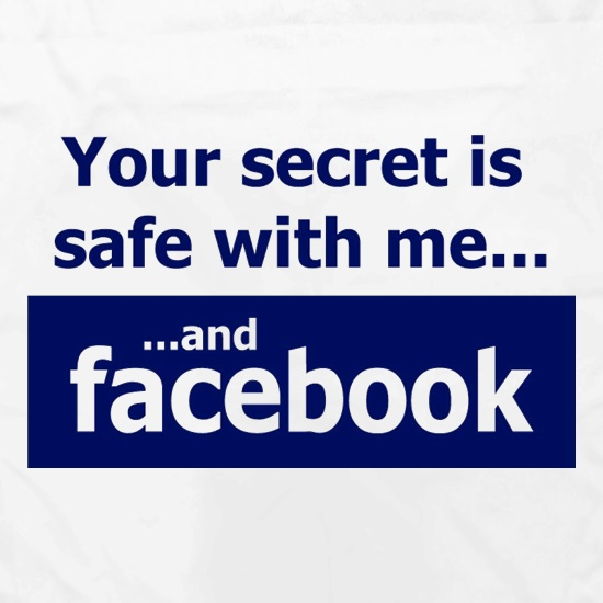Your Secret Is Safe With Me And Facebook Apron