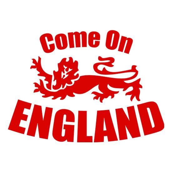 Come On England t-shirts