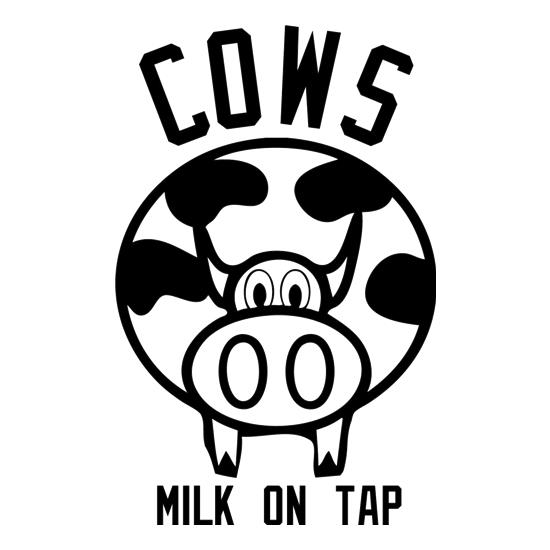 Cows Milk on Tap t-shirts