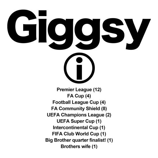 Giggsy t-shirts