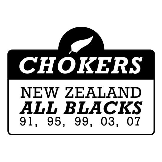Chokers New Zealand All Blacks t-shirts
