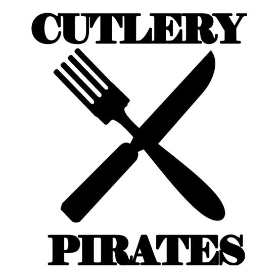 Cutlery Pirates t-shirts