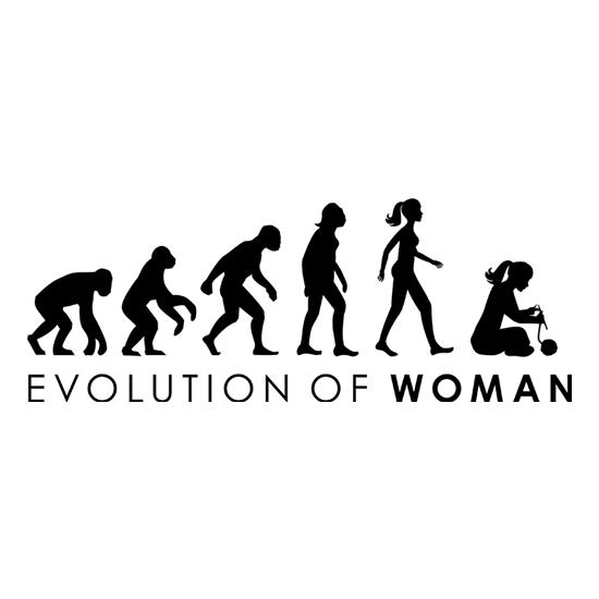 Evolution Of Woman Knitting t-shirts