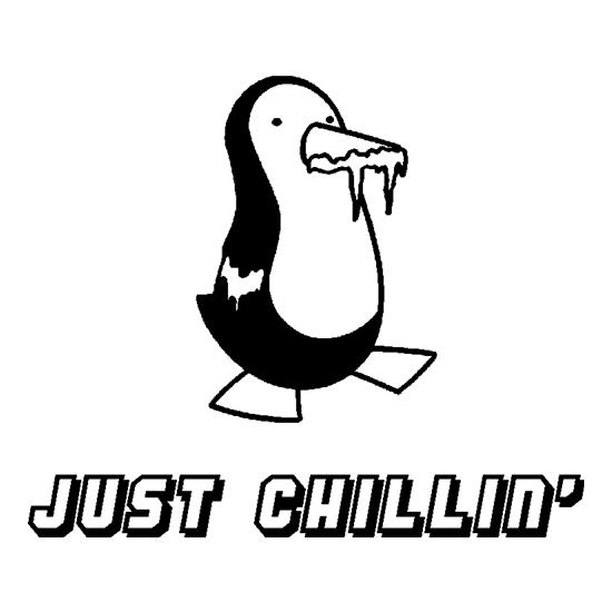 Just Chillin' t-shirts