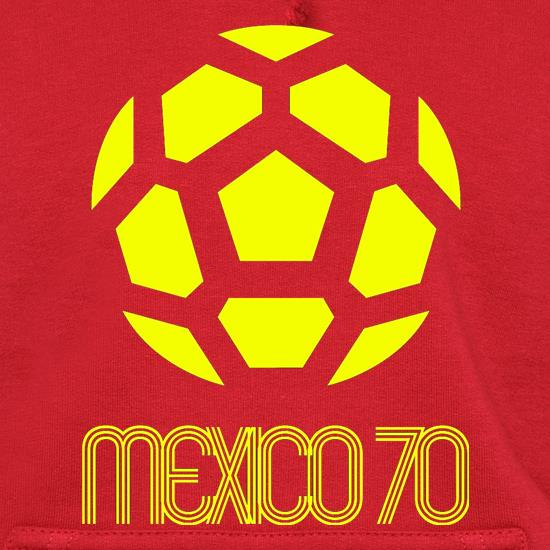 1970 World Cup Mexico Hoodies