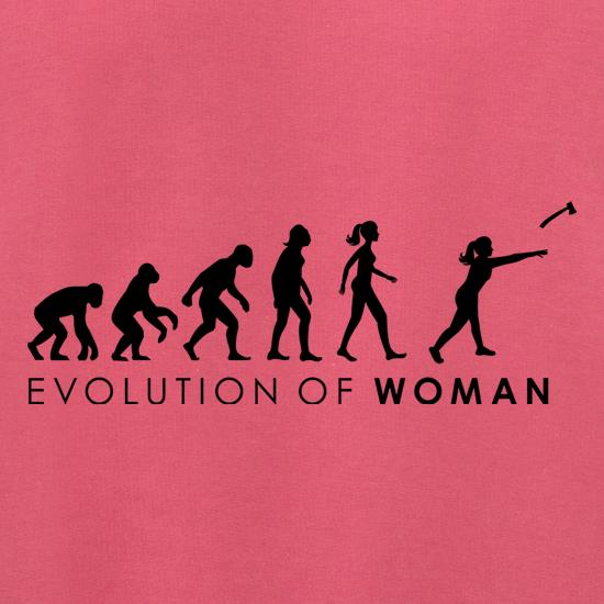 Evolution Of Woman Throwing Axe Jumpers