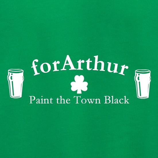 for Arthur! Paint the town black Jumpers