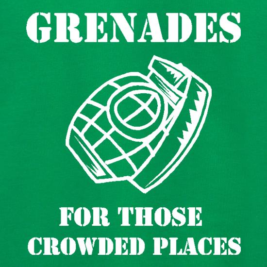 Grenades for those crowded places Jumpers