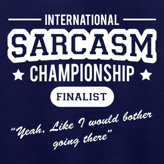 International Sarcasm Championship Finalist Jumpers