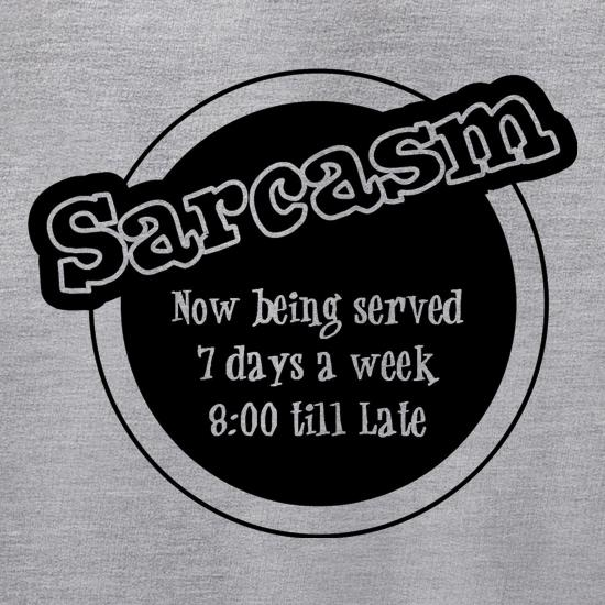 Sarcasm now being served 8 till late! Jumpers