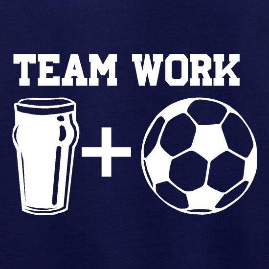 Teamwork, beer and football Jumpers