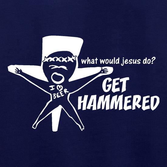 What would jesus do? Get hammered Jumpers
