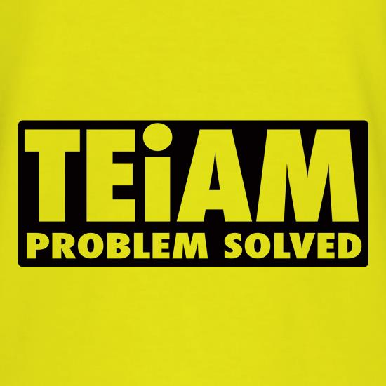 Teiam Problem Solved T-Shirts for Kids