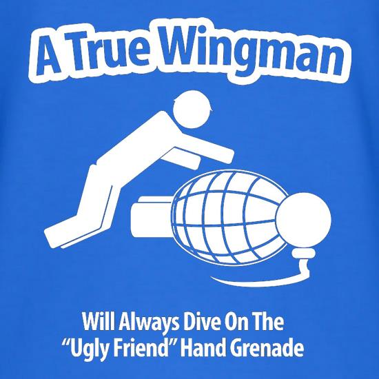 A True Wingman T-Shirts for Kids