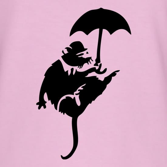 Banksy Flying Rat T-Shirts for Kids