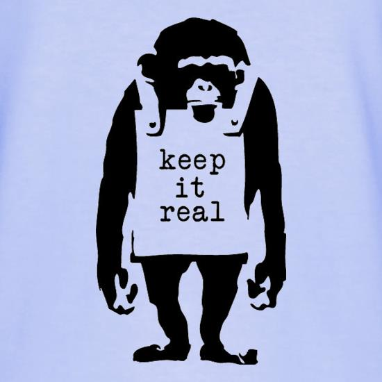 Banksy Keep It Real T-Shirts for Kids