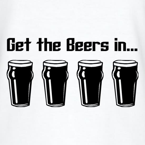 Get the beers in T-Shirts for Kids