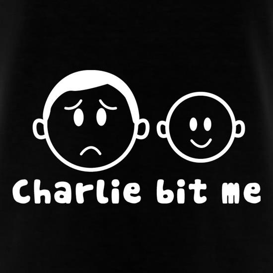 Charlie Bit Me T-Shirts for Kids