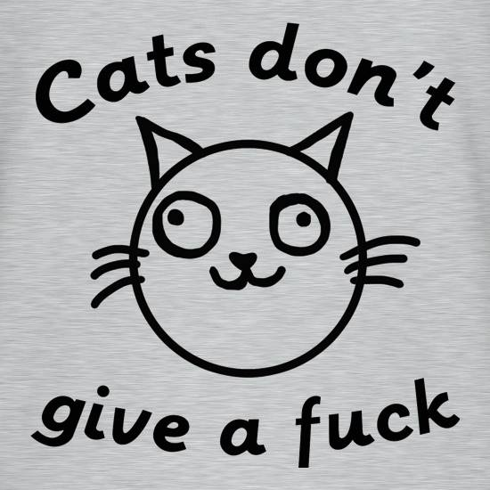 Cats Don't Give A Fuck T-Shirts for Kids