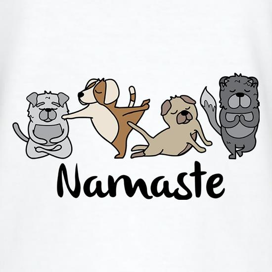 Dog Yoga T-Shirts for Kids