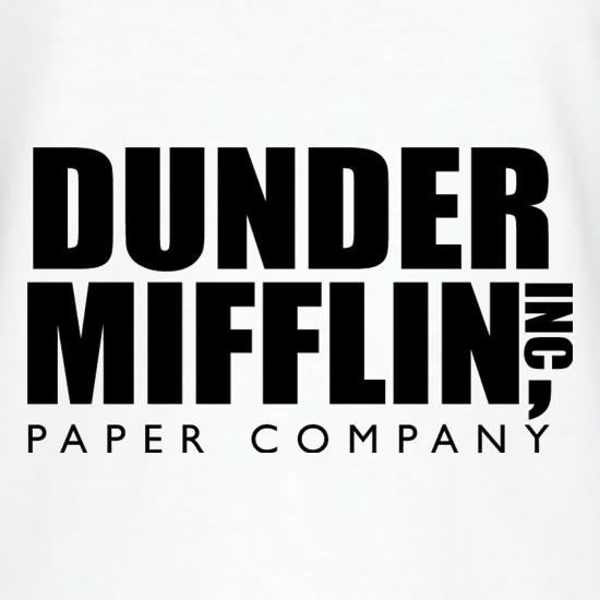Dunder Mifflin Inc Paper Company T-Shirts for Kids
