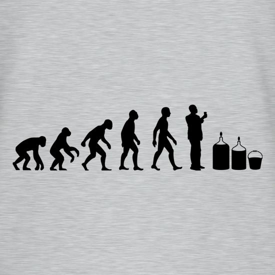 Evolution Of Man Homebrew T-Shirts for Kids