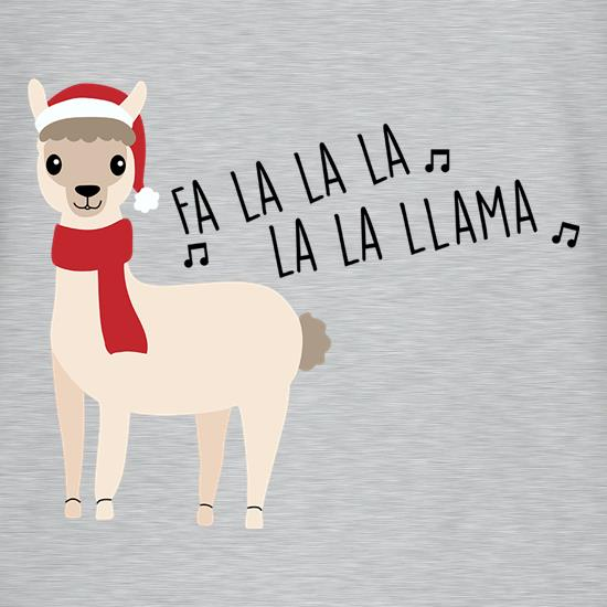 Fa La La La La La Llama T-Shirts for Kids
