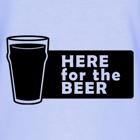 Here For The Beer T-Shirts for Kids