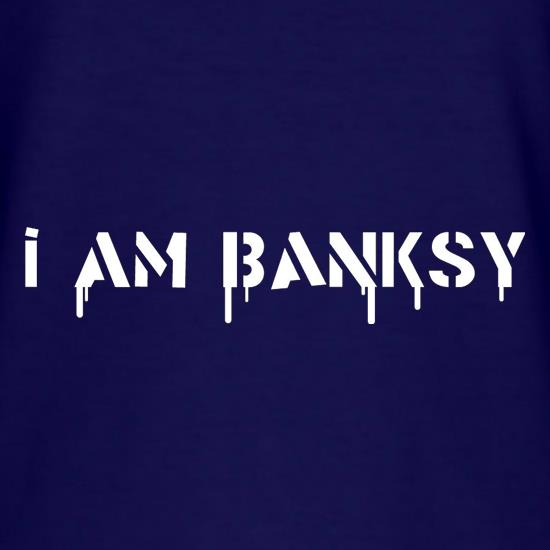 I Am Banksy T-Shirts for Kids