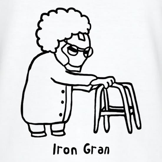 Iron Gran T-Shirts for Kids