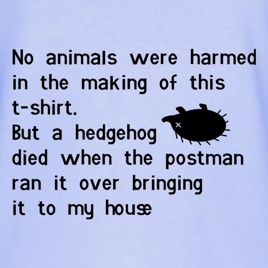 no animals were harmed during the making of this tee shirt T-Shirts for Kids
