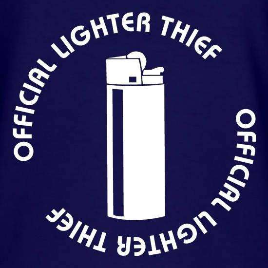 Official Lighter Thief T-Shirts for Kids