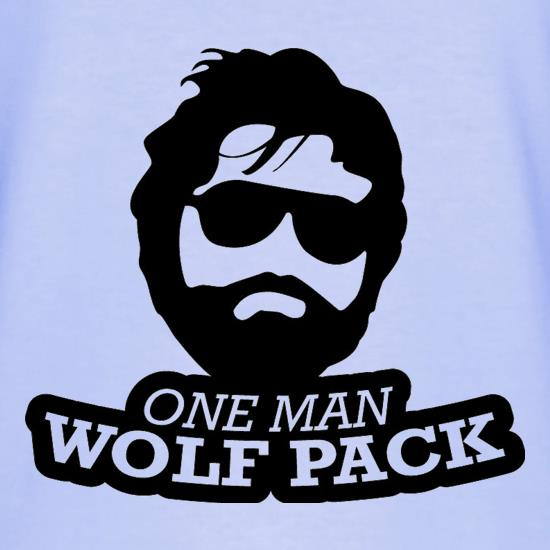 One Man Wolf Pack T-Shirts for Kids