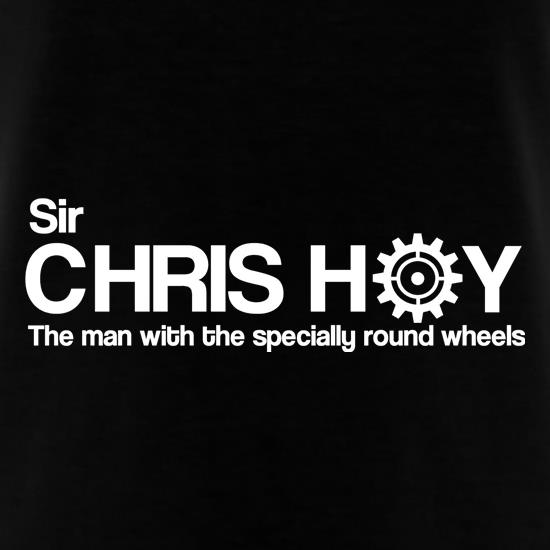 Sir Chris Hoy The Man With The Specially Round Wheels T-Shirts for Kids