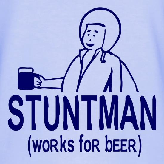 Stuntman Works For Beer T-Shirts for Kids