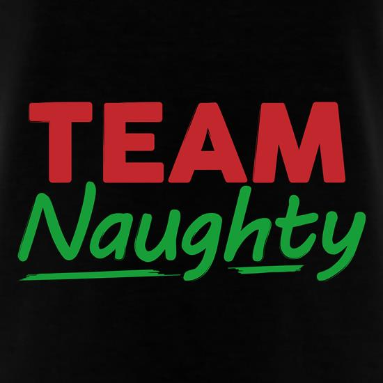 Team Naughty T-Shirts for Kids