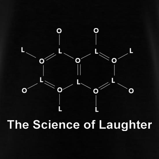 The Science Of Laughter T-Shirts for Kids