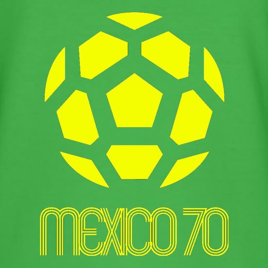 1970 World Cup Mexico t-shirts