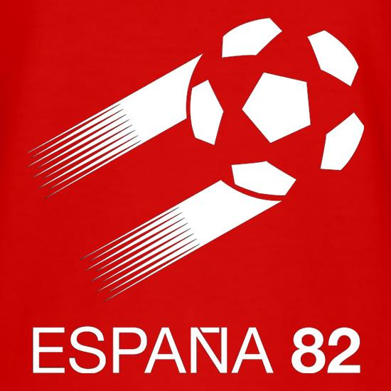 1982 World Cup Espana t-shirts