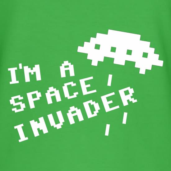 I'm A Space Invader t-shirts