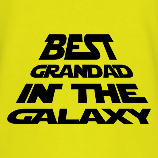 Best Grandad In The Galaxy t-shirts