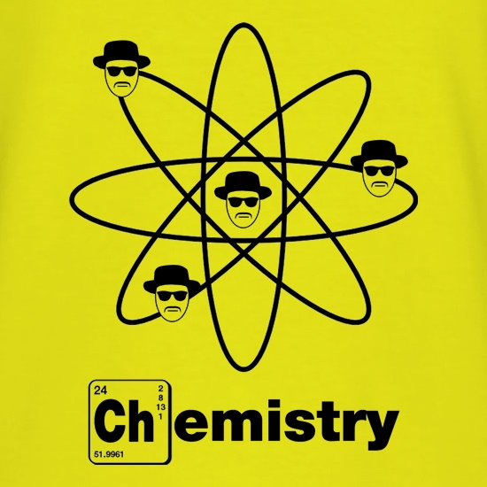Breaking Bad - Chemistry t-shirts