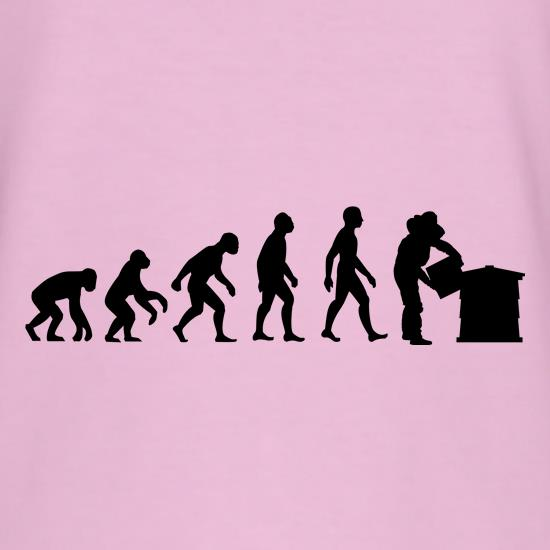 Evolution Of Man Bee Keeper t-shirts