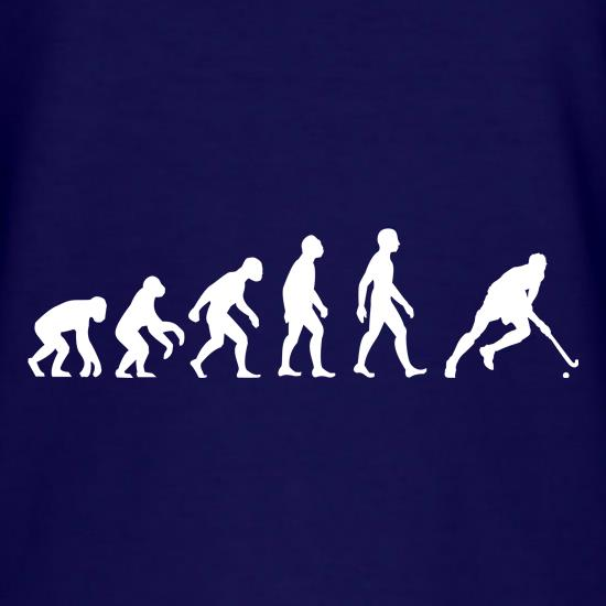 Evolution Of Man Field Hockey t-shirts