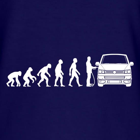 Evolution of Man T5 Campervan t-shirts