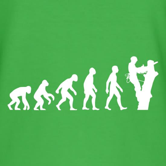 Evolution Of Man Tree Surgeon t-shirts