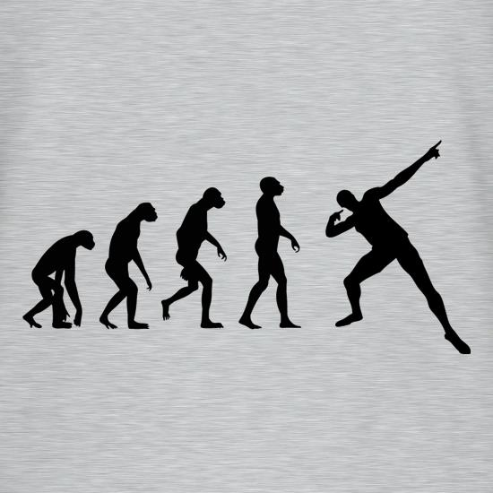 Evolution - Usain Bolt t-shirts
